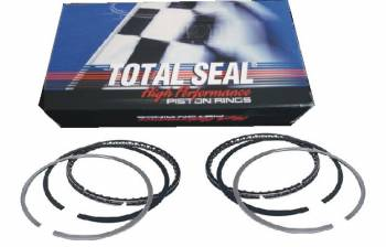 "Total Seal - Total Seal Classic AP Steel Top Ring File-Fit Piston Ring Set - Bore Size: 4.1190"" - Top Ring: 1/16"" - 2nd Ring: 1/16"" - Oil Ring: 3/16"""