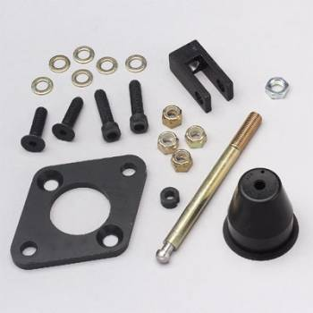 Wilwood Engineering - Wilwood Tandem Master Cylinder Bracket Adapter Kit - Master Cylinder to Single Brake Pedal