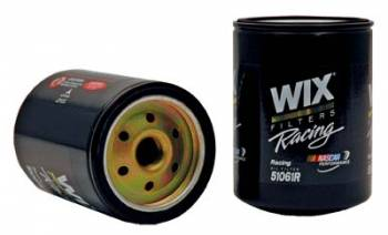 """Wix Filters - WIX Racing Oil Filter - Late GM - 5.178"""" x 3.660"""" - 13/16""""-16 Thread - No Bypass - 28 GPM"""
