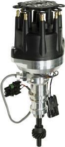 MSD - MSD Pro-Billet Cam Sync Distributor - Ford 351W - Steel Gear