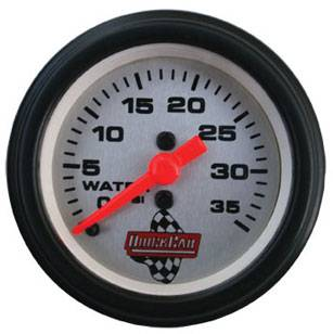"QuickCar Racing Products - QuickCar QuickCar 2"" Water Pressure Gauge"