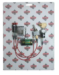 QuickCar Racing Products - QuickCar Quick-Light 9 Volt Oil Pressure Warning Kit - Deluxe