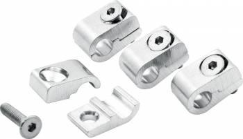 "Allstar Performance - Allstar Performance Universal Aluminum Line Clamps - 3/16"" - 4 Pack"