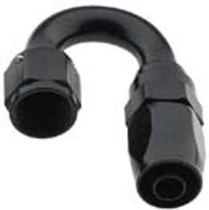 Fragola Performance Systems - Fragola Series 2000 Pro-Flow 180° Hose End - Black -16 AN