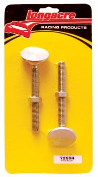 "Longacre Racing Products - Longacre Replacement 4"" Swivel Feet (2 Pack)"