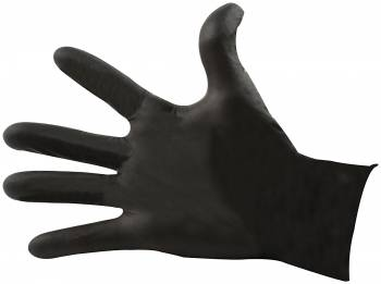 Allstar Performance - Allstar Performance Nitrile Gloves - Black - Medium - (100 Pack)