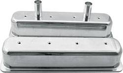 Allstar Performance - Allstar Performance Cast Aluminum Valve Covers - SB Chevy - Centerbolt