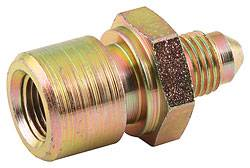 "Allstar Performance - Allstar Performance Steel Brake Line Adapter -03 AN to 1/8""NPT"