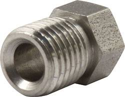 """Allstar Performance - Allstar Performance 3/16"""" Inverted Flare Nuts - 3/8""""-24"""" Stainless"""