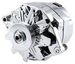 Allstar Performance - Allstar Performance GM Single Wire Chrome Alternator