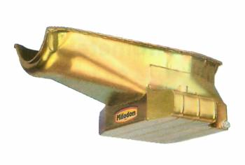 "Milodon - Milodon Road Race Wet Sump Road Race Oil Pan - 1980-1985 and Dart Shp - 2 Pc. Rear Main Seal (R/H Dipstick) - 7 Quart Capacity - 10"" Sump Length - 7-5/8"" Sump Depth"