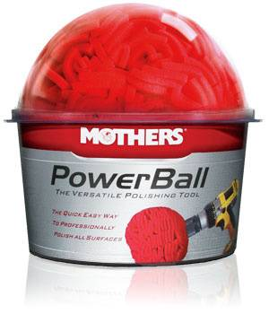Mothers Polishes-Waxes-Cleaners - Mothers® PowerBall®