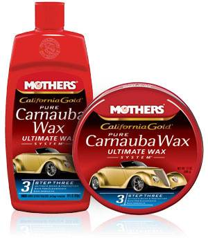Mothers Polishes-Waxes-Cleaners - Mothers® California Gold® Pure Carnauba WaxStep 3 - 12 oz. Paste