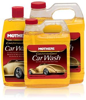 Mothers Polishes-Waxes-Cleaners - Mothers® California Gold® Car Wash - 16 oz.