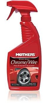 Mothers Polishes-Waxes-Cleaners - Mothers® Wheel Mist® Chrome, Wire Wheel Cleaner - 24 oz.