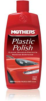 Mothers Polishes-Waxes-Cleaners - Mothers® Plastic Polish - 8 oz.