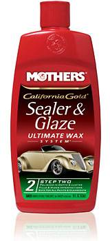 Mothers Polishes-Waxes-Cleaners - Mothers® California Gold® Sealer & GlazeStep 2 - 16 oz.