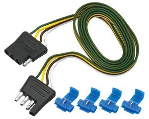 Tow Ready - Tow Ready 4-Flat Connector Harness - Loop