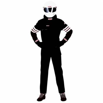 Simpson STD.6 Nomex 2 Piece Suit - Black