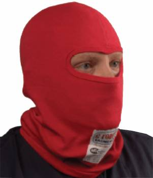 G-Force Red Single Layer Single Eyeport Balaclava