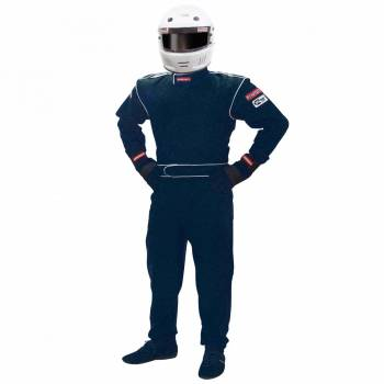 Pyrotect DX1 Junior Auto Racing Suit - Black