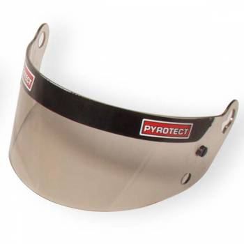 Pyrotect Dark Smoke Helmet Shield