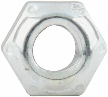 "Allstar Performance - Allstar Performance Coarse Thread Mechanical Lock Hex Nut, 1/4""-20 (10 Pack)"