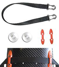 Hans Performance Products - Hans ® Device Pro Post Anchor Sliding Tether Upgrade Kit