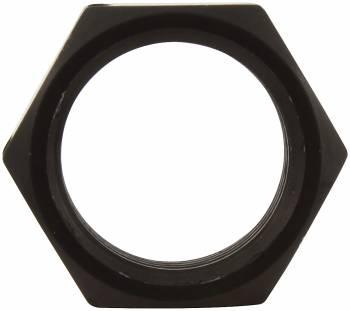 "Allstar Performance Aluminum Jam Nut - LH - 3/4""-16 - 15/16"" Wrench Size - Black"