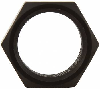 """Allstar Performance Aluminum Jam Nut - RH - 3/4""""-16 - 15/16"""" Wrench Size - Black (10 Pack)"""