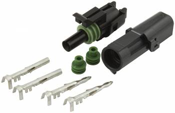 Allstar Performance Weather Pack 1-Wire Connector Kit