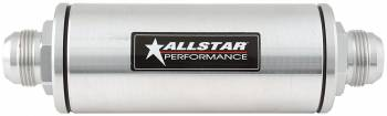 Allstar Performance Inline Oil Filter With -16AN Fittings