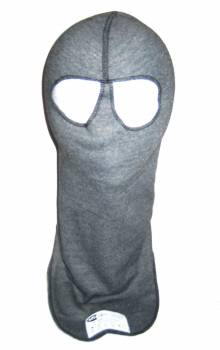PXP RaceWear 2 Layer Dual Eyeport Headsock - Gray