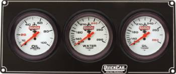 QuickCar Extreme 4 Gauge Dash Panel