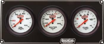 QuickCar Extreme 3 Gauge Dash Panel