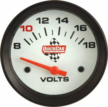 "QuickCar Extreme Volt Meter Gauge - 2-5/8"""