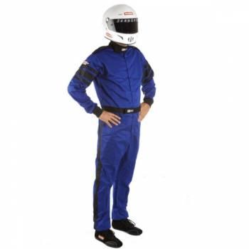 RaceQuip - RaceQuip 110 Series Pyrovatex Racing Suit - Blue - X-Large