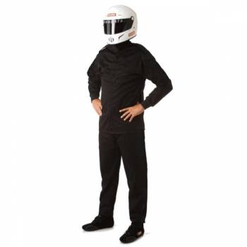 RaceQuip - RaceQuip 110 Series Pyrovatex Jacket (Only) - Black - Medium