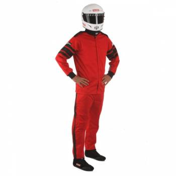 RaceQuip - RaceQuip 110 Series Pyrovatex Jacket (Only) - Red - Small