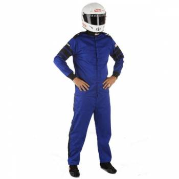 RaceQuip - RaceQuip 110 Series Pyrovatex Jacket (Only) - Blue - Large