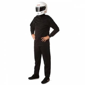 RaceQuip - RaceQuip 110 Series Pyrovatex Pant (Only) - Black - Medium