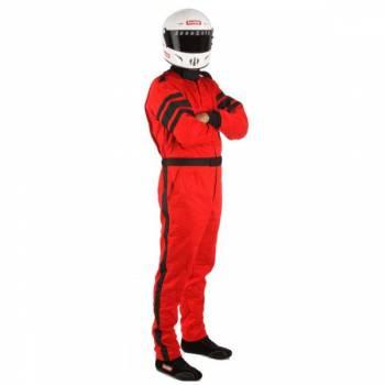 RaceQuip - RaceQuip 120 Series Pyrovatex Racing Suit - Red - X-Large