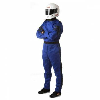 RaceQuip - RaceQuip 120 Series Pyrovatex Racing Suit - Blue - X-Large