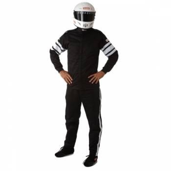 RaceQuip - RaceQuip 120 Series Pyrovatex Racing Jacket (Only) - Black - Medium