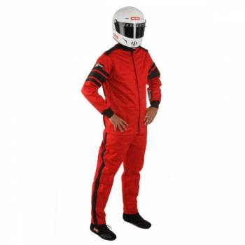 RaceQuip - RaceQuip 120 Series Pyrovatex Racing Jacket (Only) - Red - X-Large