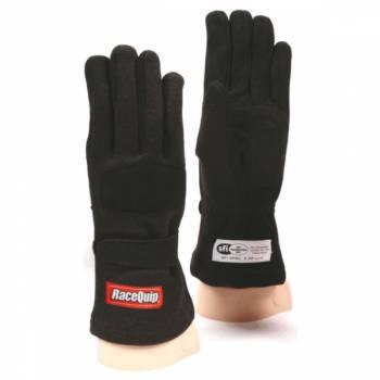 RaceQuip - RaceQuip 355 Nomex Driving Glove - Black - X-Large