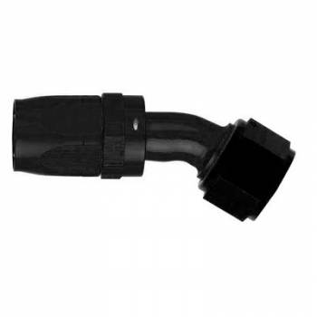 Aeroquip - Aeroquip Black Reusable Aluminum -08 AN 30° Swivel Hose End