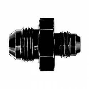Aeroquip - Aeroquip Black Aluminum -12 AN to -12 AN Union Adapter