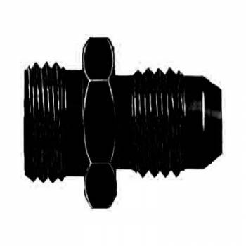 Aeroquip - Aeroquip Black Aluminum -06 Carburetor Fitting
