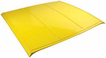 Allstar Performance Fiberglass Dirt Roof - Yellow ALL23183